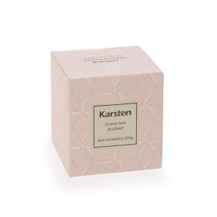 Vela Perfumada Karsten Aromaterapia Jasmin 200g