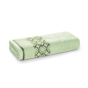 Toalha de Rosto Karsten Fio Cardado Nardin Verde Chá/ Verde/ Verde Escuro