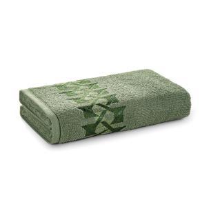 Toalha de Rosto Karsten Fio Cardado Duarte Verde Bonsai/ Verde