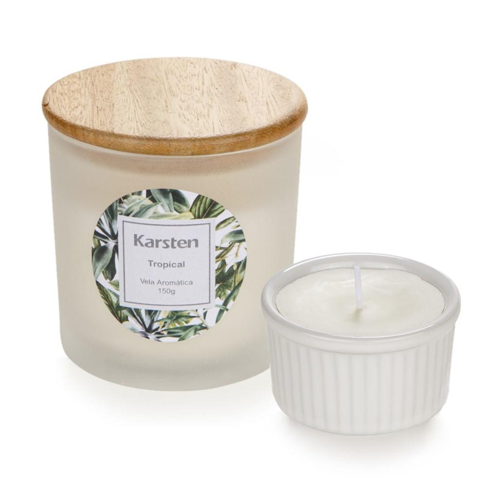 Kit Velas Perfumadas Karsten Tropical