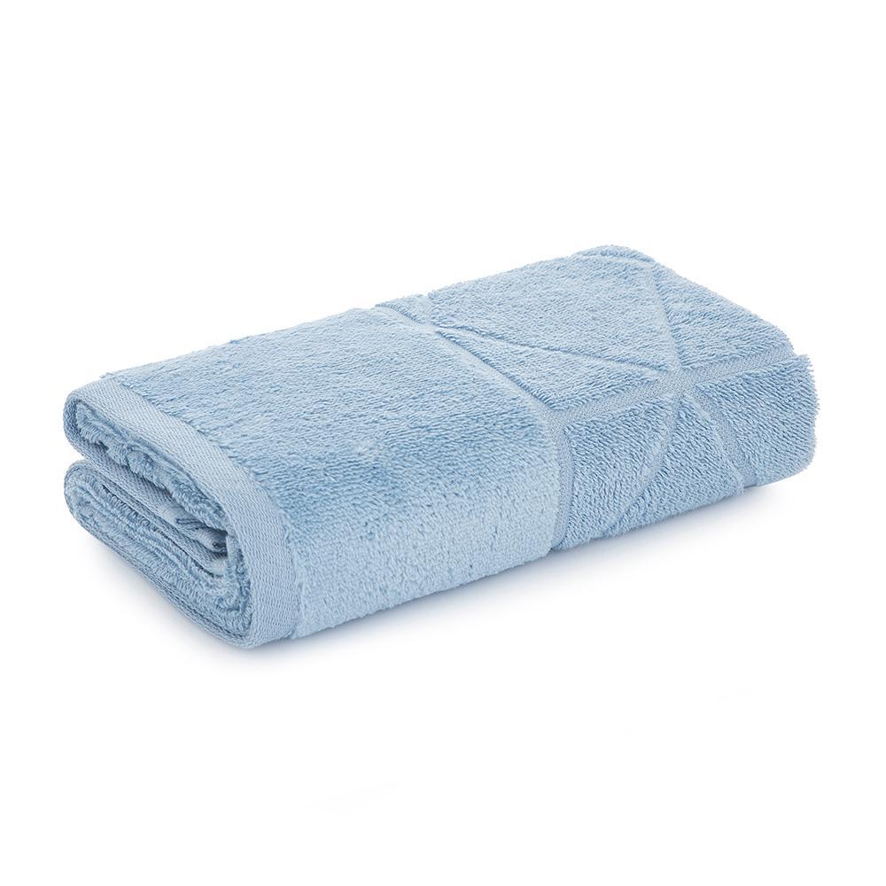 Toalha de Rosto Karsten Fio Penteado Vega Azul
