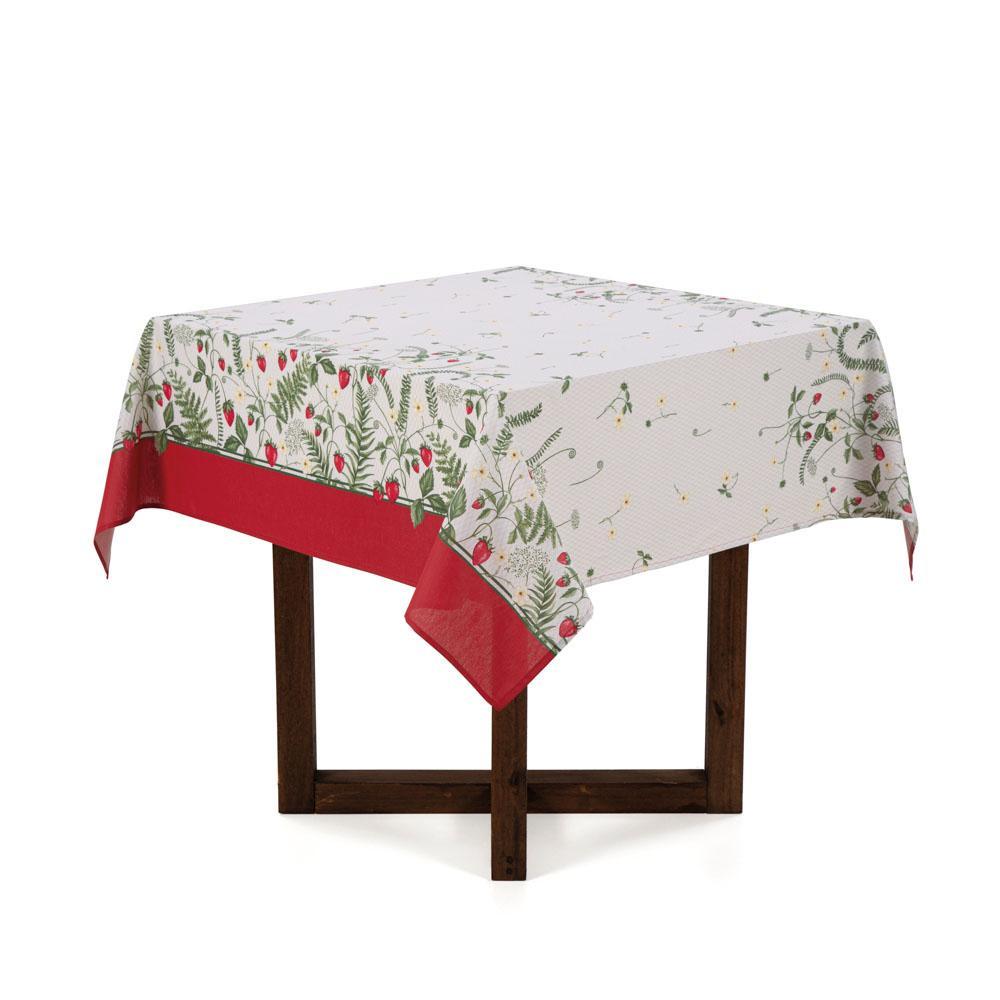 Toalha de mesa Quadrada Karsten 4 lugares Dia a Dia Frutalia