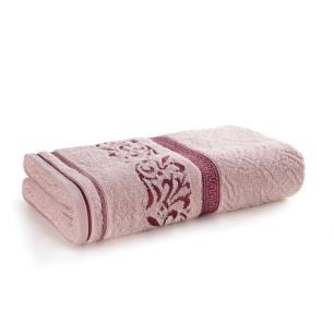 Toalha Banhão Karsten Fio Penteado Núbia Rosé/Rosa