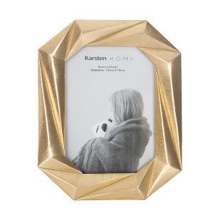 Porta Retrato Dourado Karsten Home Power Gold 13 x 18 cm