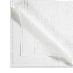Toalha de Piso Karsten 100% Algodão Metrópole Branco