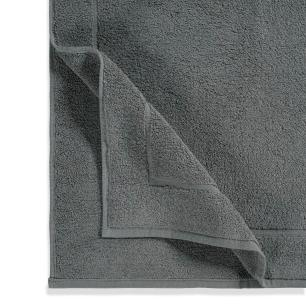 Toalha de Piso Karsten 100% Algodão Juliet Cinza Steel
