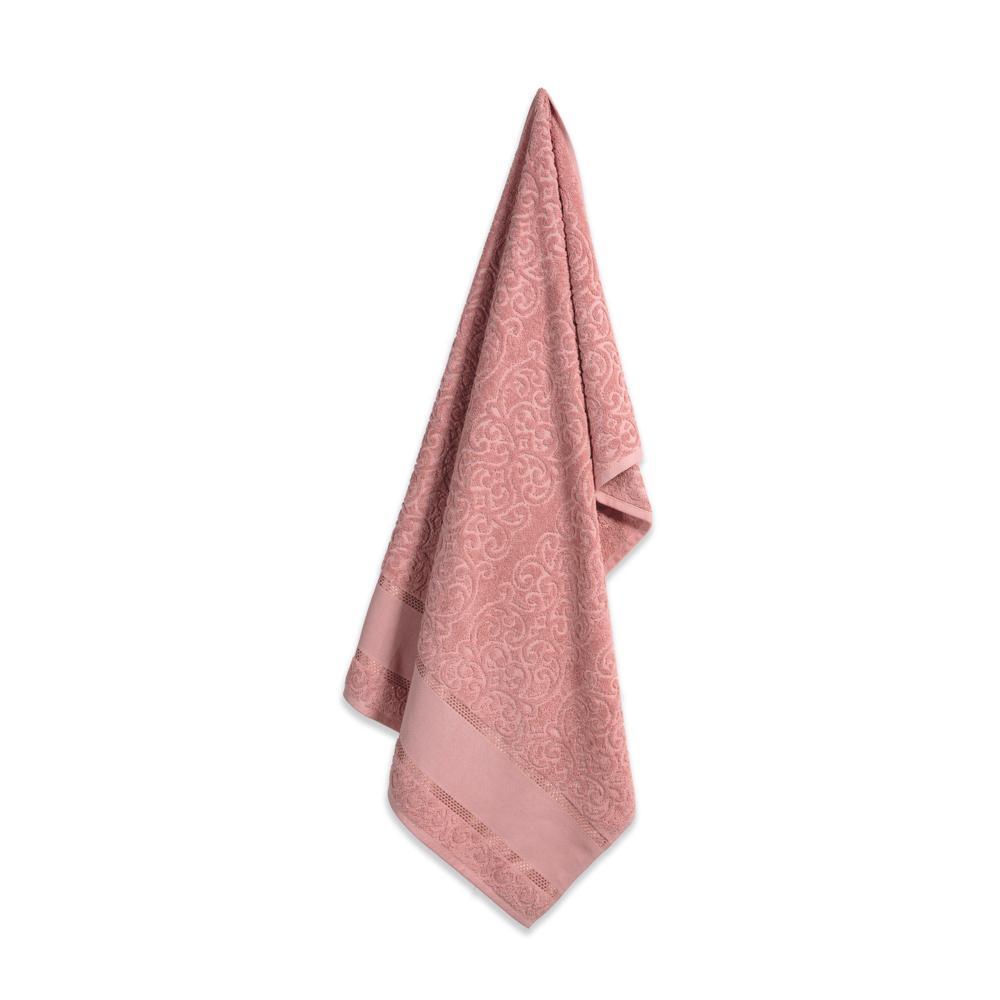 Toalha de Banho para Pintar Karsten Melina Lady Pink