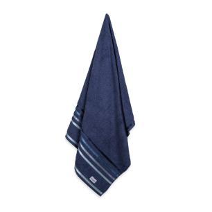 Toalha de Banho Karsten Fio Penteado Lumina Marinho/Azul