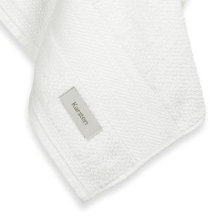 Toalha de Rosto Karsten Fio Cardado Empire Branco