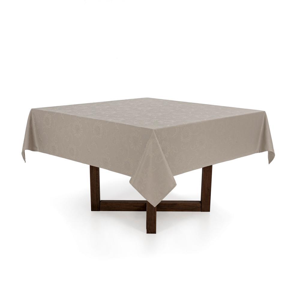 Toalha de mesa Quadrada Karsten 8 lugares Celebration Sienna Camurça