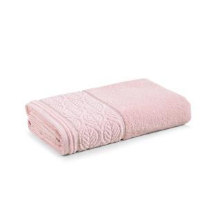 Toalha de Banho Karsten Aveludada Belgrado Rosé