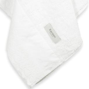 Toalha de Banho Karsten Fio Penteado Fresia Branco