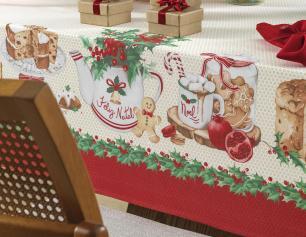 Trilho de Mesa/Caminho de Mesa de Natal Karsten Segredos de Receita