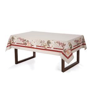 Toalha de mesa Retangular Karsten 6 lugares Antiformiga Ambrósia