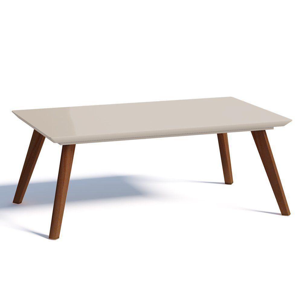 Mesa de Centro Classic Off White - Imcal