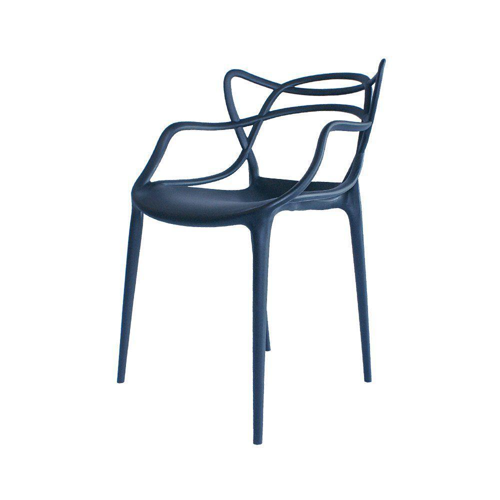 Cadeira Decorativa Amsterdam Preto - Facthus