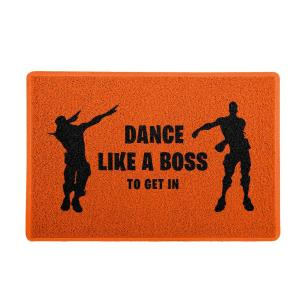 Capacho Dance Like a Boss Laranja 0,40X0,60M - Beek