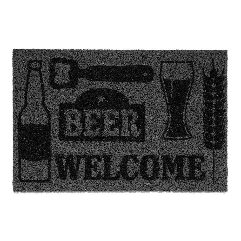 Capacho Vinil Super Print Beer 0,40X0,60M - Kapazi