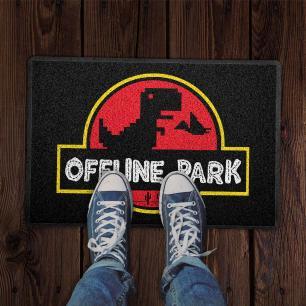 Capacho Offline Park Preto 0,40X0,60M - Beek