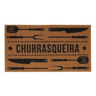 Capacho Super Print Churrasqueira 0,40X0,75M - Kapazi