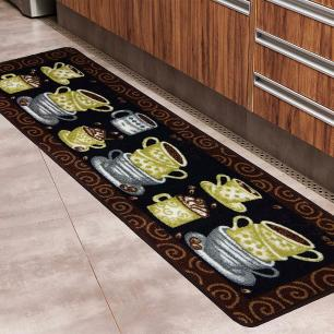 Passadeira Cozinha Boucle Elegance Des 06 - 0,45X1,20M - Niazitex