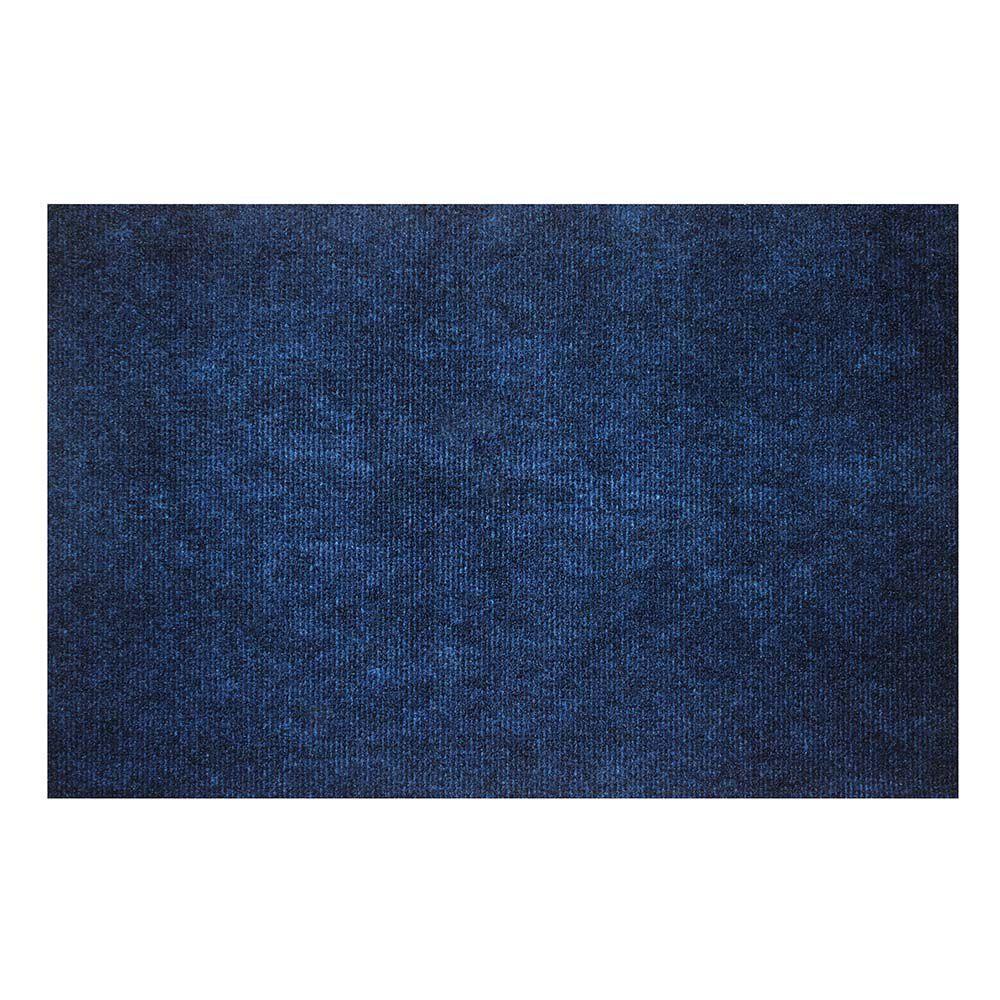 Capacho Agulhado Liso Azul Marinho 0,39X0,59M - Kapazi