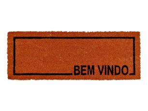 Capacho Fibra de Coco Slim 03 - 0,26X0,75M - Edantex