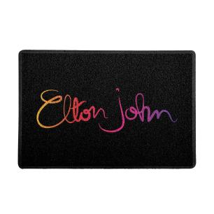 Capacho Elton John Preto 0,40X0,60M - Beek
