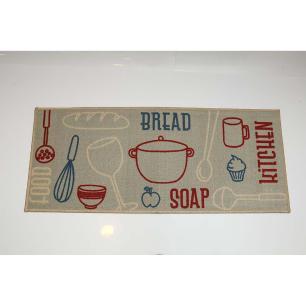 Passadeira de Cozinha Cleankasa Bread 0,50X1,20M - Kapazi