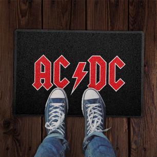 Capacho AC-DC Logo Preto 0,40X0,60M - Beek
