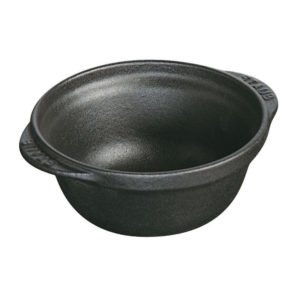 Bowl de ferro redondo 115 cm Preta Ferro Fundido