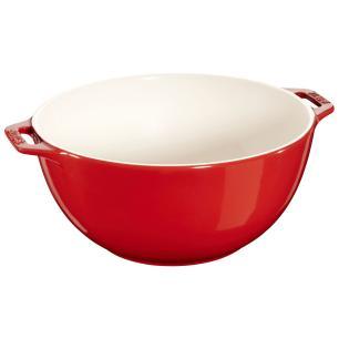 Bowl 25 cm Cereja Ceramica