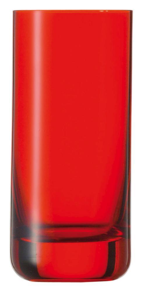 Copo Longo Vermelho, Spots, 320 ml