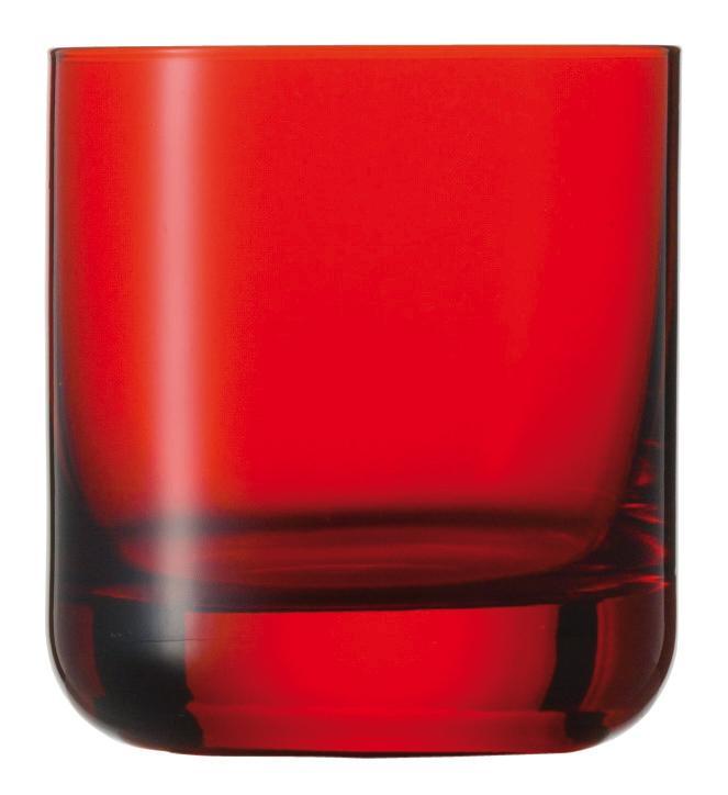 Copo Baixo Vermelho, Spots 285 ml
