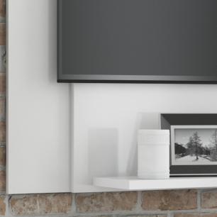 Painel para Tv Enzo Plus 120x90 cm - Branco