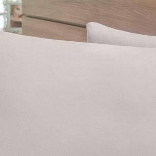 Lençol Sem Elástico Cama Viúva Percal 400Fios Com Vira 35cm Fendi