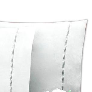 Lençol C/ Elástico Solteiro King Percal 200Fios 100% Algodão Branco