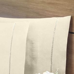 Lençol Sem Elástico Solteiro King 140Fios C Vira Algodão-pl Palha