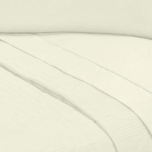 Lençol Sem Elástico Solteiro King Percal 400Fios C Vira 35cm Palha