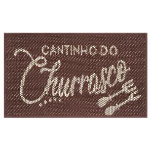 Tapete Cantinho Churrasco S-514 Tabaco