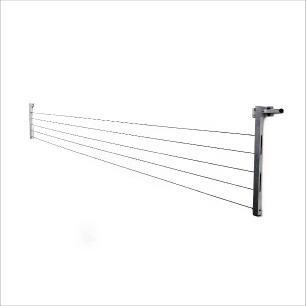 Varal de Roupas Articulado Retratil De Parede 60 Kg Reforçado Aluminio