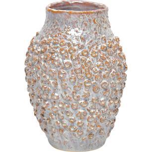 Vaso Cerâmica Bege Home&Co Fennel 24X17X17Cm