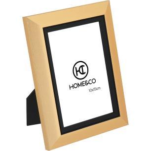 Porta-Retratos Plástico Dourado 10X15 Home&Co Viktor 20X15X2Cm
