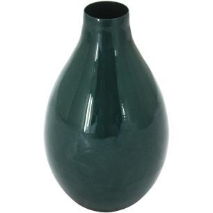 Vaso Metal Verde Home&Co Grambello 15X9X9Cm