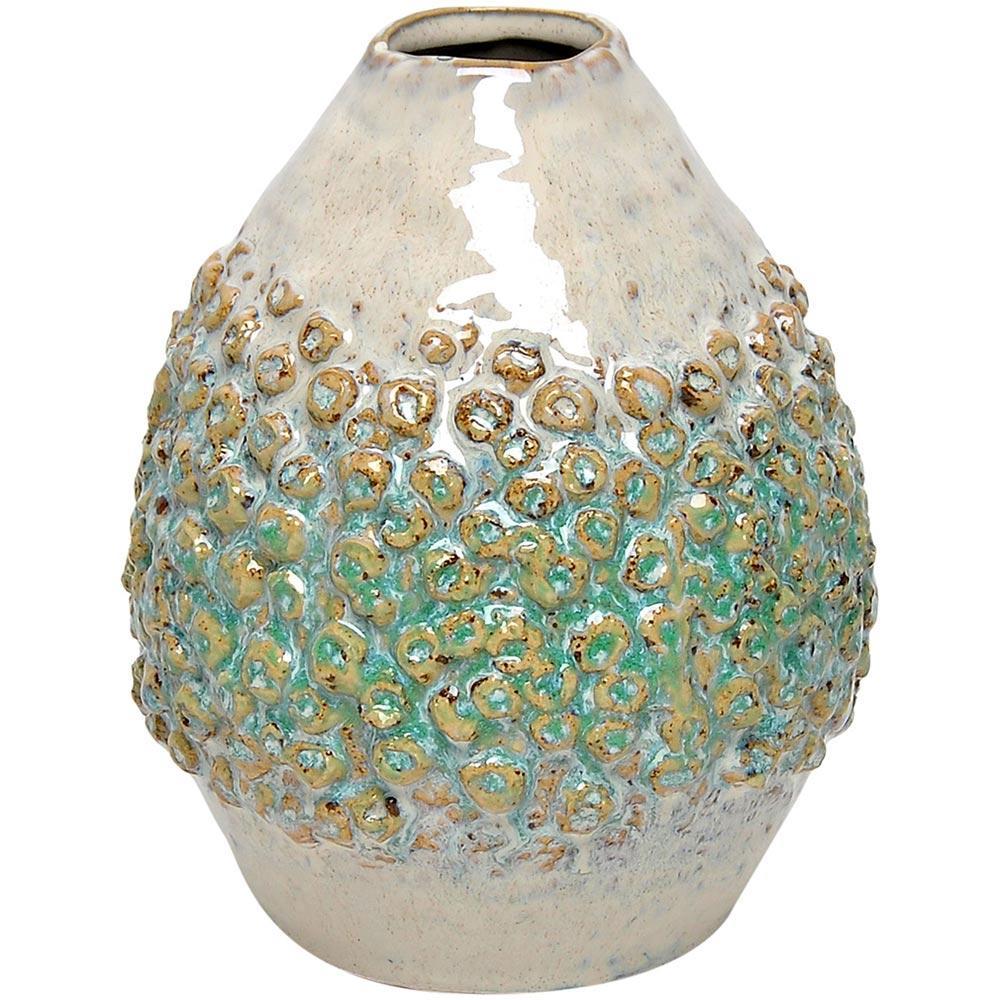 Vaso Cerâmica Verde Home&Co Fennel 19X16X16Cm