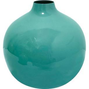 Vaso Metal Verde Home&Co Grambello 15X16X16Cm