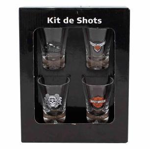 Kit Copos de Shot 50 ml Harley Davidson
