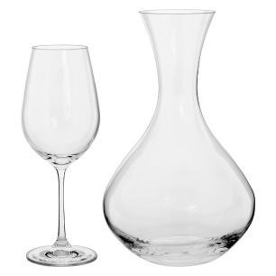 Viola Jogo Decanter/Taças Cristal 7 peças Transparente 1,5L/450Ml Bohemia