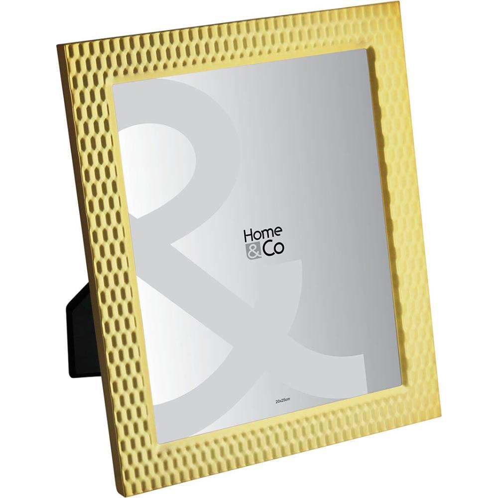 Porta-Retratos Metal Dourado 20X25 Home&Co Gold Rose 30X25X2Cm