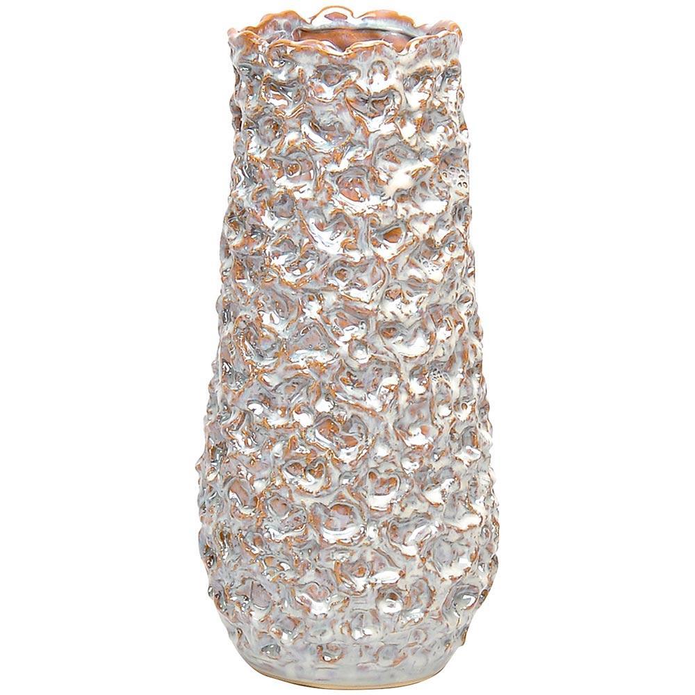 Vaso Cerâmica Bege Home&Co Ludive 34X15X15Cm